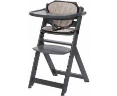 Timba Hochstuhl mit Sitzkissen (Warm Grey, Hochstuhl)