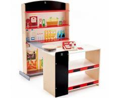 Kaufladen mit Kasse & Scanner