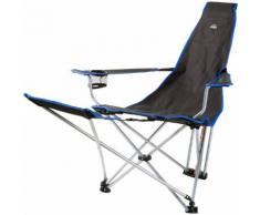 McKINLEY Campingstuhl Relax, Größe - in Grau/Blau, Größe - in Grau/Blau