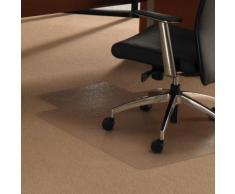 ULTIMAT 120x134 - Bodenschutzmatte transparent 120 x 134 mit Lippe
