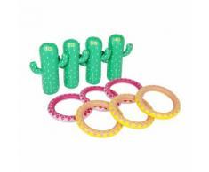 Sunnylife - Aufblasbares Kaktus Ringwurfspiel