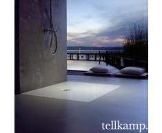 Tellkamp Aquazone Rechteck Duschwanne L: 140 B: 80 H: 3,5 cm TN0300-017-14080