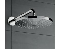 Hansgrohe Raindance Select S 300 2jet Kopfbrause mit Brausearm 390 mm, ohne EcoSmart chrom 27378000