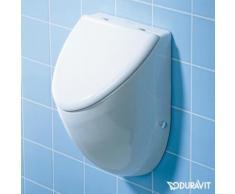 Duravit Urinal Fizz B: 30,5 H: 50 T: 28,5 cm weiß mit WonderGliss Ausführung für Deckel 08233500001