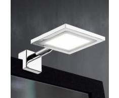 Wofi Pax LED Klemmleuchte B: 10 H: 3,5 T: 16,5 cm, chrom 4621.01.01.0044, EEK: A+