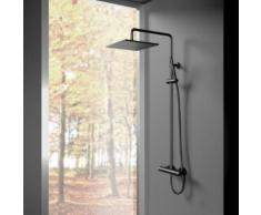 Treos Serie 195 Thermostat-Duschsystem mit Kopfbrause B: 300 T: 300 mm, für Wandmontage 195.01.27262