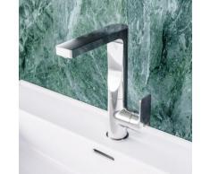 Ideal Standard Edge Einhebel-Waschtischarmatur mit hohem schwenkbarem Auslauf mit Ablaufgarnitur A7110AA