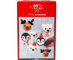 JAKO-O Weihnachtskugeln Polartiere, weiß