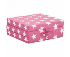 JAKO-O Faltmatratze Sterne, pink