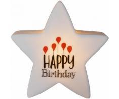 """JAKO-O Leuchtstern """"Happy Birthday"""", transparent"""