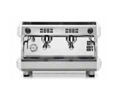 MORGAN Siebträgermaschine - 2 Gruppig - Weiß oder Grau/ Espressomaschine/ Kaffeemaschine/ Gastro/ Milchaufschäumer/ Espresso/ Cappuccino