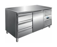 Saro Kühltisch inkl. 3er Schubladenset / Modell KYLJA 2130 TN; VE: 1