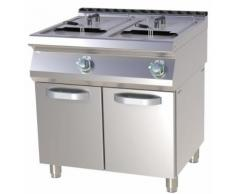 Fritteuse Elektro, 800x730x900 mm, 2x 13 Liter, 50 - 190°C,