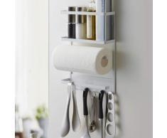 Yamazaki Home Utensilienhalter magnetisch Küche Kühlschrank Halterung Metall weiß 02744
