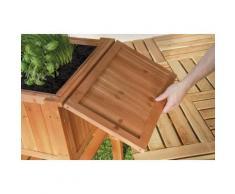 Hochbeet Beet FLORALIS aus Holz Höhe 80cm Inhalt 80 Liter 301220108-HE