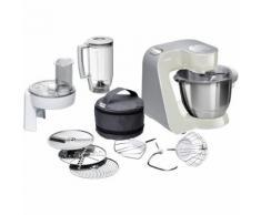 Bosch MUM58L20 Küchenmaschine 3,9 l Grau, Edelstahl, Weiß 1000 W