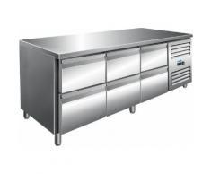 Saro Kühltisch inkl. 3 x 2er Schubladenset / Modell KYLJA 3160 TN; VE: 1