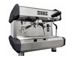 MORGAN Siebträgermaschine - 1 Gruppig - Weiß oder Grau/ Espressomaschine/ Kaffeemaschine/ Gastro/ Milchaufschäumer/ Espresso/ Cappuccino