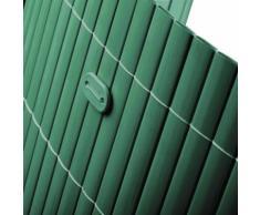 Sichtschutzmatte PVC Befestigungskit Grün