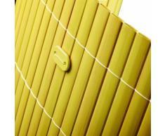 Sichtschutzmatte PVC Befestigungskit Bambus