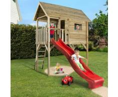 weka Tabaluga Kinderstelzenhaus 815 Spielhaus, mit Rutsche