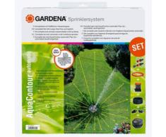 Gardena Sprinklersystem AquaContour automatic Set mit Vielflächenregner