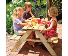 WINNETOO Picknicktisch FABIAN mit Sitzbank Gartentisch Gartenmöbel