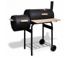 vidaXL Kohlegrill Klassischer BBQ Grill Smoker