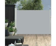 vidaXL Ausziehbare Seitenmarkise 100×500 cm Grau