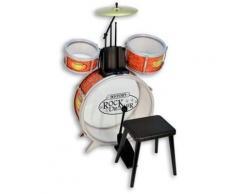 Bontempi Spielzeug-Schlagzeug Set mit Hocker