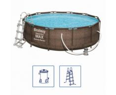 Bestway Steel Pro MAX Swimmingpool-Set Deluxe Series Rund 366×100 cm