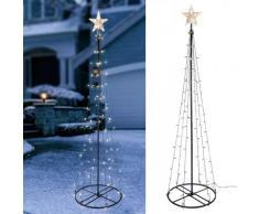 HI Lichterbaum Weihnachtsbaum mit 106 LEDs 180 cm