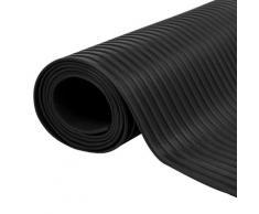 vidaXL Gummi-Bodenmatte Antirutschmatte 2 x 1 m breit gerippt
