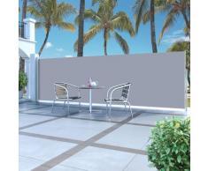 vidaXL Ausziehbare Seitenmarkise 160x500 cm Creme