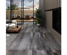 vidaXL PVC-Laminat-Dielen 4,46 m² 3 mm Selbstklebend Industriell Holz
