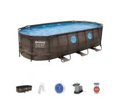Bestway Swimmingpool-Set Power Steel Swim Vista Series 549×274×122 cm