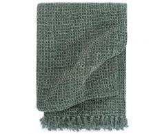vidaXL Überwurf Baumwolle 160x210 cm Dunkelgrün