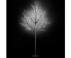 vidaXL LED-Lichterbaum Weihnachten Indoor Outdoor IP44 300 cm Weiß