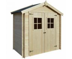 vidaXL Gartenhaus Holz 2 x 1 m 19 mm Holz