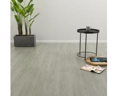 vidaXL PVC Laminat Dielen Selbstklebend 4,46 m² 3 mm Grau