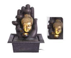 ProGarden Springbrunnen Buddha 30x24x40 cm