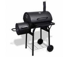 vidaXL Barbecue-Smoker Holzkohlegrill