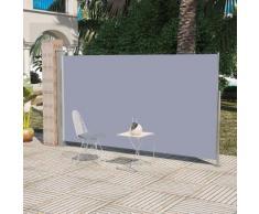 vidaXL Ausziehbare Seitenmarkise 160x300 cm Grau
