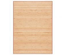 vidaXL Teppich Bambus 160×230 cm Braun