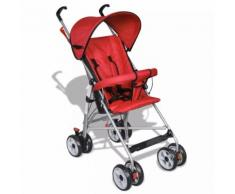 vidaXL Kinderwagen Buggy Sportwagen Babywagen Babyjogger Reisebuggy Rot