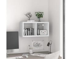 vidaXL Würfelregal Weiß 69,5x29,5x37 cm MDF