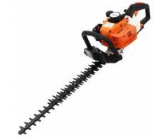 vidaXL Benzin-Heckenschere Orange und Schwarz 722 mm