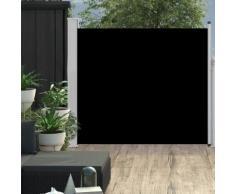 vidaXL Ausziehbare Seitenmarkise 100×300 cm Schwarz