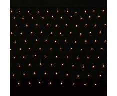 vidaXL 200 LED Lichterkette Lichternetz Lichtervorhang 3.2 x 1.5m