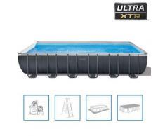 Intex Swimmingpool-Set Ultra XTR Frame Rechteckig 732 x 366 x 132 cm